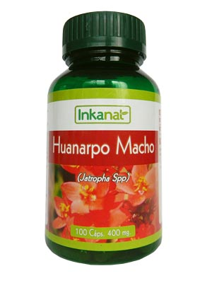 Male Huanarpo capsules (100 x 400 mg)