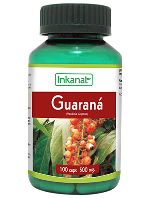 Guarana en gélules (100 gel x 500 mg)
