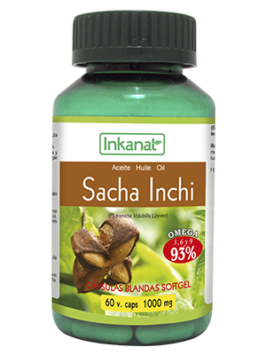 Sacha inchi in capsule (60 X 1000mg)