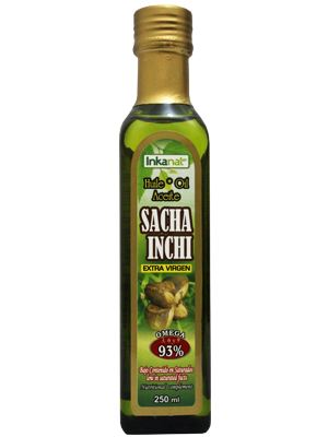 Sacha Inchi oil, extra virgin (250ml. / 8,8oz.)