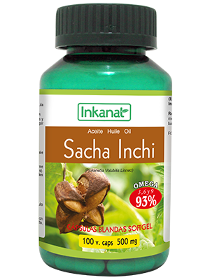 capsules Sacha Inchi 100 caps. x 500 mg.